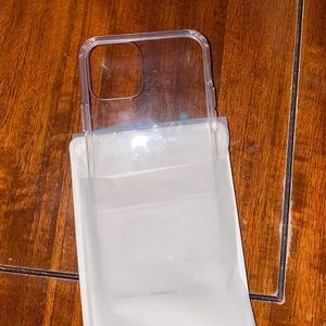 Clear iPhone 11 Pro case brand new